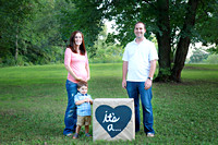 Taylor Family Gender Reveal