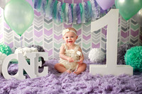 Brynlee 1 year cake smash session